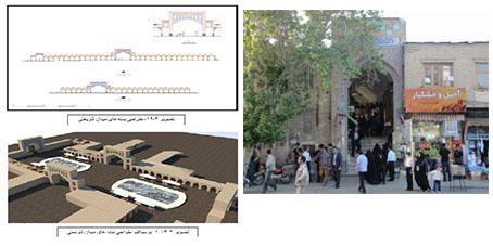 بهسازی بافت تاریخی خیابان امام خمینی سمنان به صورت word